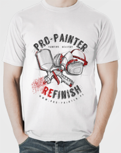 CUSTOM FACTORY - Tshirt PRO-PAINTER