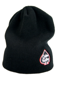 CUSTOM FACTORY - Czapka BEANIE SIDE LOGO BLACK