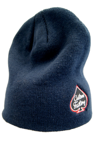 CUSTOM FACTORY - Czapka BEANIE SIDE LOGO NAVY