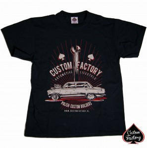 CUSTOM FACTORY - Tshirt FIAT-ROD