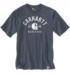 Koszulka Carhartt Graphic Short Sleeve T-Shirt Bluestone