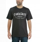 Koszulka Carhartt Workwear Original S/S T-Shirt Carbon Heather Grafitowa