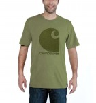 Koszulka Carhartt Workwear C Logo Graphic S/S T-Shirt Oli Green Heather Zielona