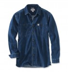 Koszula Carhartt EMEA Denim Long Sleeve Shirt Jeans