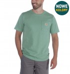 Carhartt koszulka Workwear Pocket S/S Relaxed Fit K87 - Botanic Green