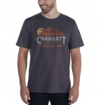 Carhartt Koszulka Workwear Explorer Graphic T-Shirt Bluestone