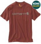 Koszulka Carhartt Core Logo T-Shirt Iron Ore Heather