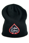 CUSTOM FACTORY - Czapka BEANIE LOGO BLACK