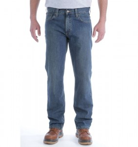 Spodnie Carhartt Relaxed Straight Jeans Weathered Blue