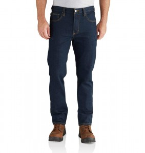 Spodnie Carhartt Rugged Flex® Straight Tapered Jeans Erie