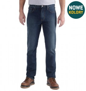 Spodnie Carhartt Rugged Flex® Straight Tapered Jeans Superior