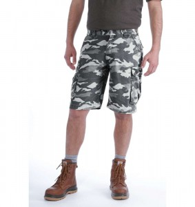 Spodenki Carhartt Rugged Cargo Grey Camo Short