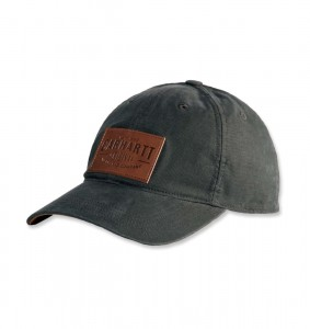 Czapka Carhartt Rigby Stretch Fit Leatherette Patch Cap Peat
