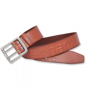 Pasek Carhartt Logo Belt Brown