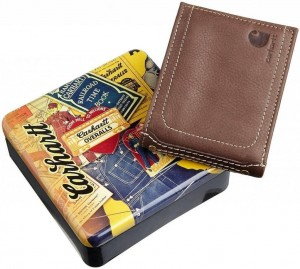 Portfel Carhartt Pass Case Wallet Brown