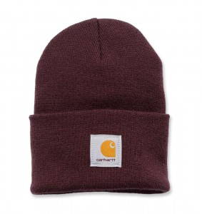 Czapka Carhartt Acrylic Watch Hat Beanie Deep Wine