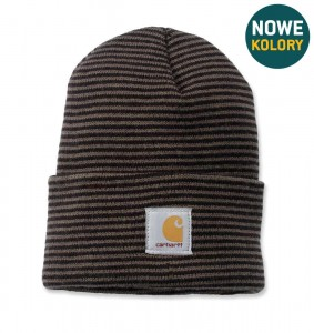 Czapka Carhartt Acrylic Watch Hat Beanie Black Stripe