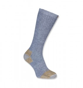 Skarpety Carhartt Steel Toe Work Boot Sock (2 Pary) Grey