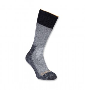 Skarpety Carhartt Cold Weather Boot Sock (1 Para) Heather Black