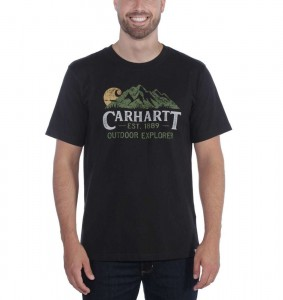 Carhartt Koszulka Workwear Explorer Graphic T-Shirt Black Czarna