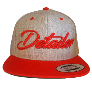 CUSTOM FACTORY - Czapka Snapback DETAILER RED