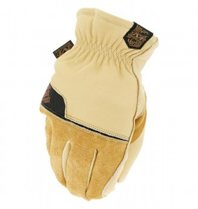 Rękawice Zimowe Mechanix Durahide™ Insulated Driver Brown
