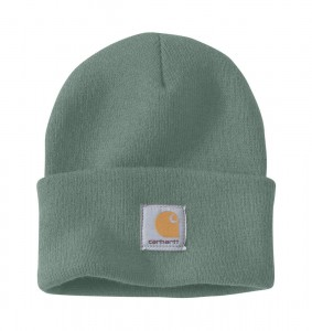 Czapka Carhartt Acrylic Watch Hat Beanie Leaf Green